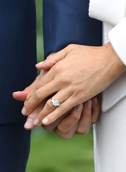 La bague de fiançailles de Meghan Markle