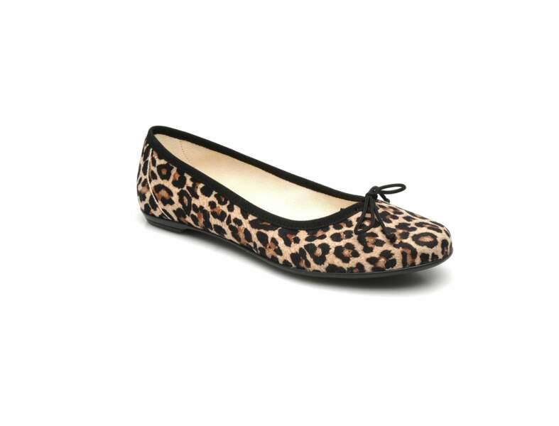 Les ballerines léopard