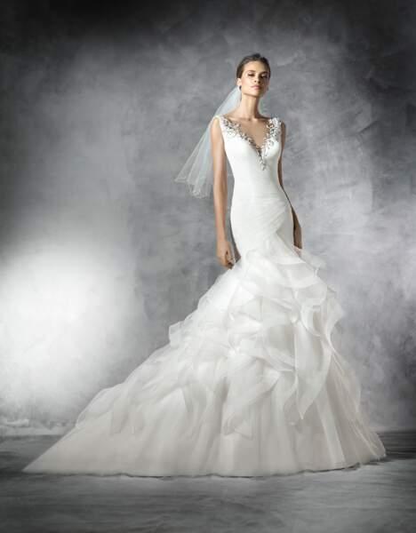 Robe de mariée Pronovias : Precious