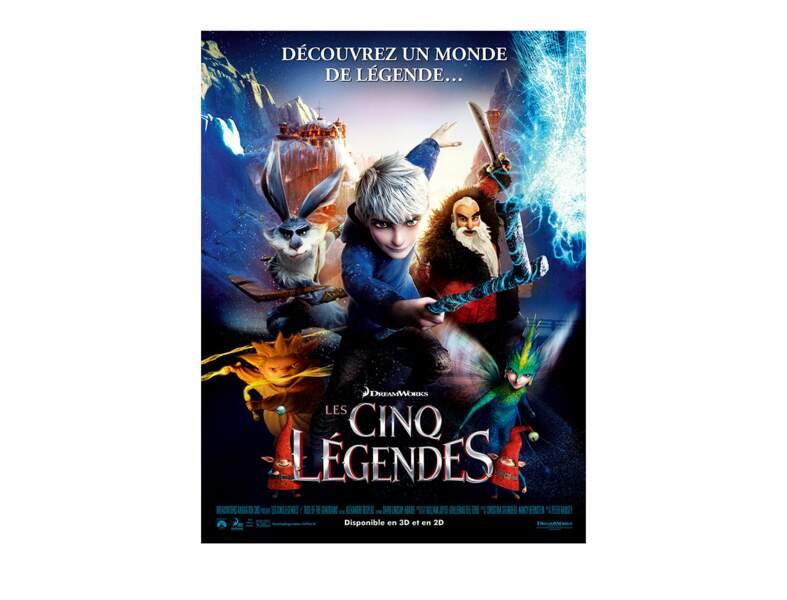 2 - Les cinq légendes