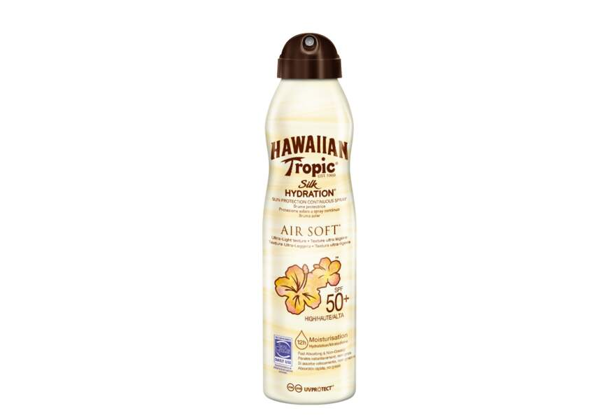 La brume silk hydratation air soft SPF50 Hawaiian Tropic