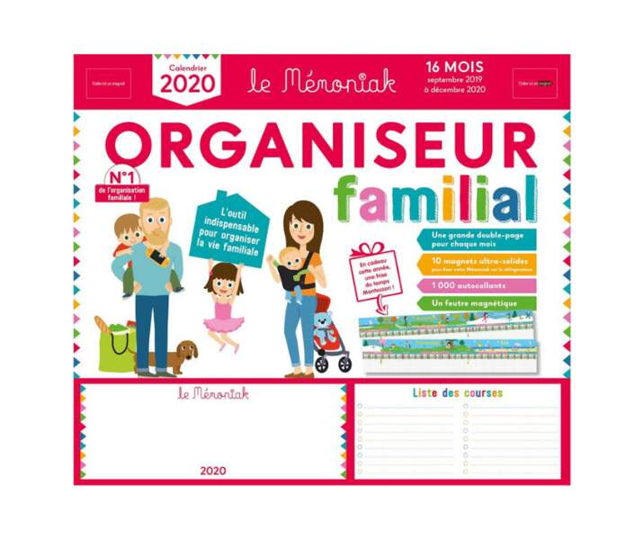 Organiseur familial - Mémoniak
