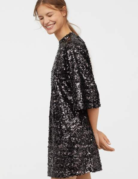 Robe chic : paillettes