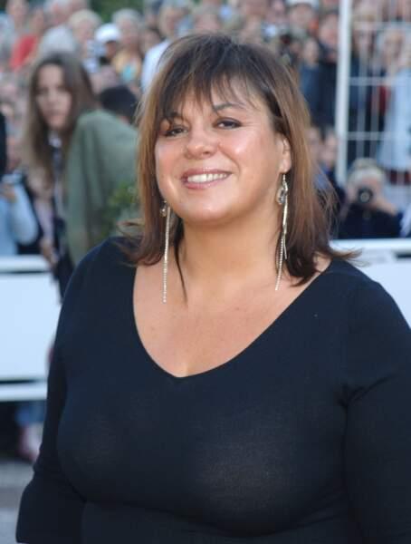Michèle Bernier au festival de Cannes en mai 2005.