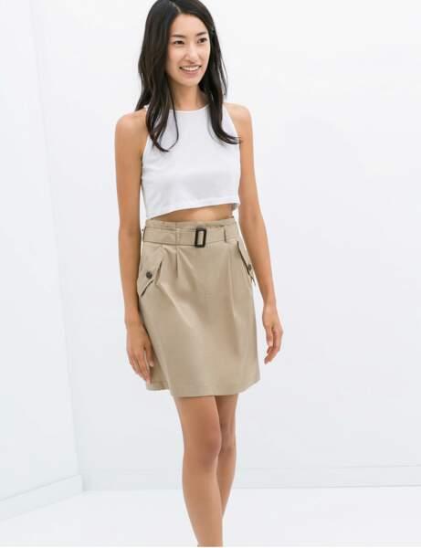La jupe taille haute