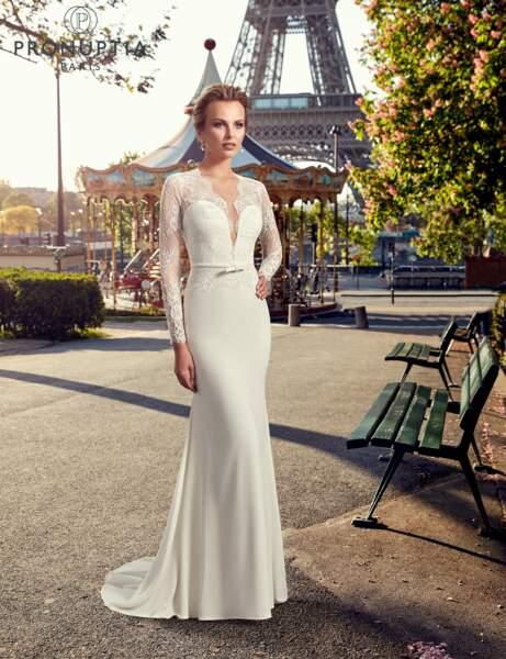 Robe de mariée Beaubourg