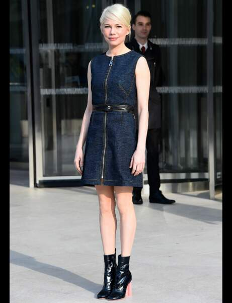 Michelle Williams et sa robe fashion