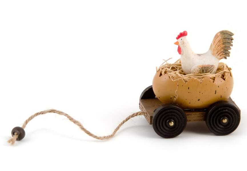 Une poule qui roule