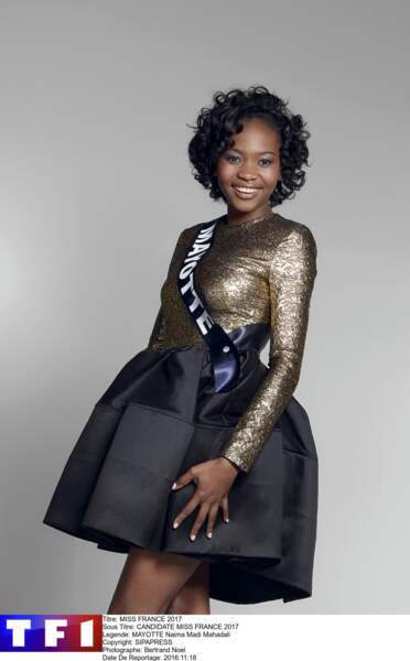 Miss Mayotte - Naima Madi Mahadali
