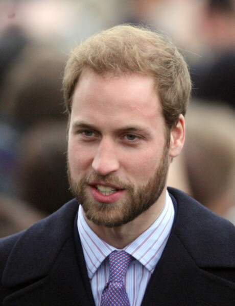 La barbe du Prince William