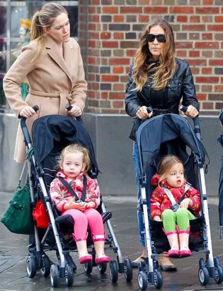Sarah Jessica Parker : des jumelles par mère porteuse