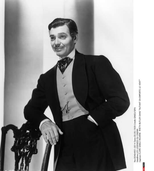 Clark Gable dans Autant en emporte le vent