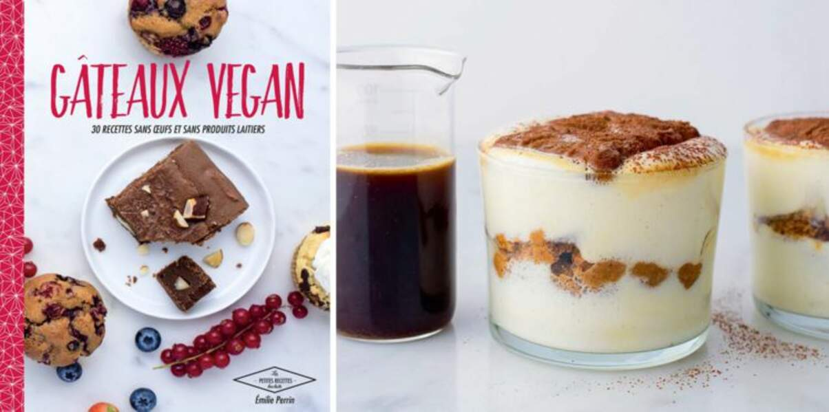 Tiramisu vanille spéculoos vegan