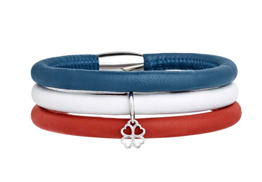 Bleu blanc rouge: les bijoux tendance