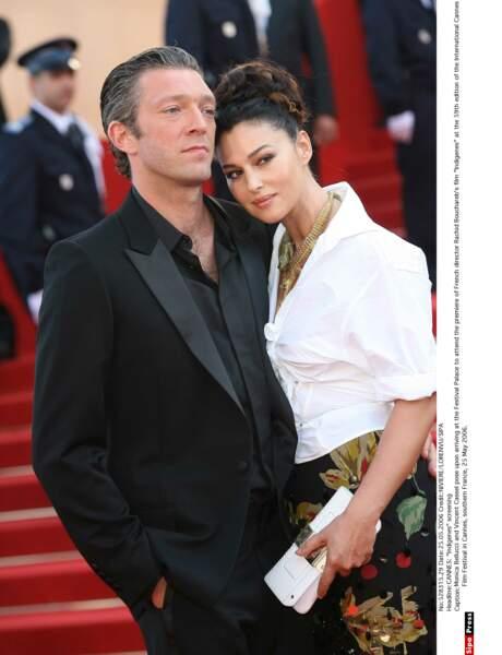 Vincent Cassel et Monica Bellucci : 2006