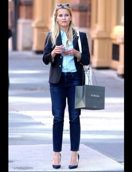 Reese Witherspoon  et son jean droit