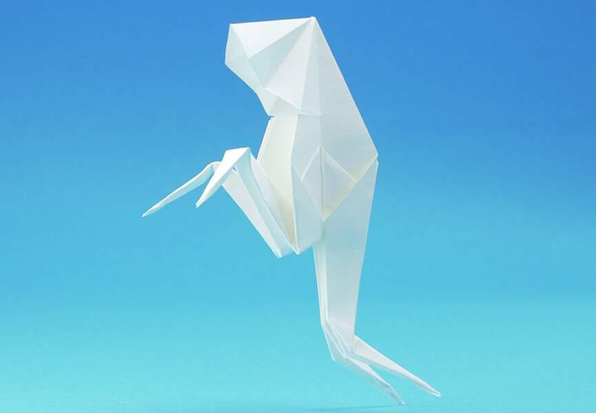 Un fantôme en origami