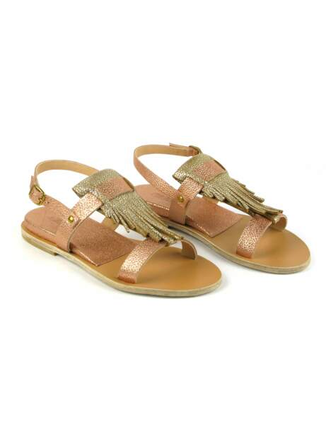 Hippie chic : les sandales glam