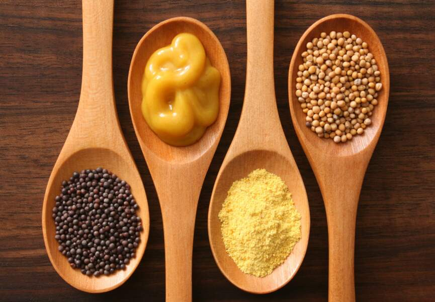 Les graines de moutarde