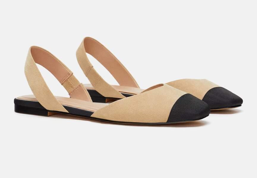 Nouveautés Zara: les chaussures à brides
