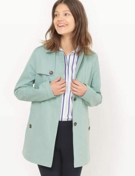 Le trench mi-long