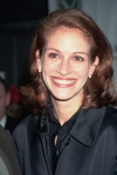 """Julia Roberts à la première du film """"Michael Collins"""" en 1996"""