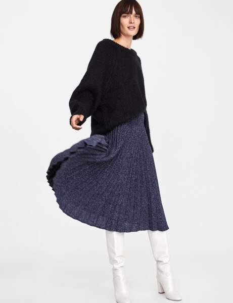 La jupe pailletée