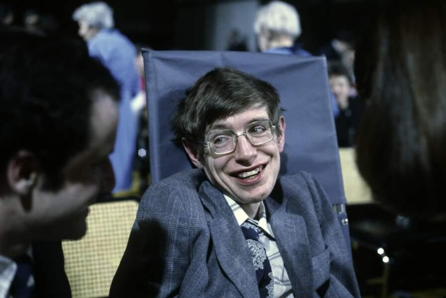 Stephen Hawking, le 14 mars