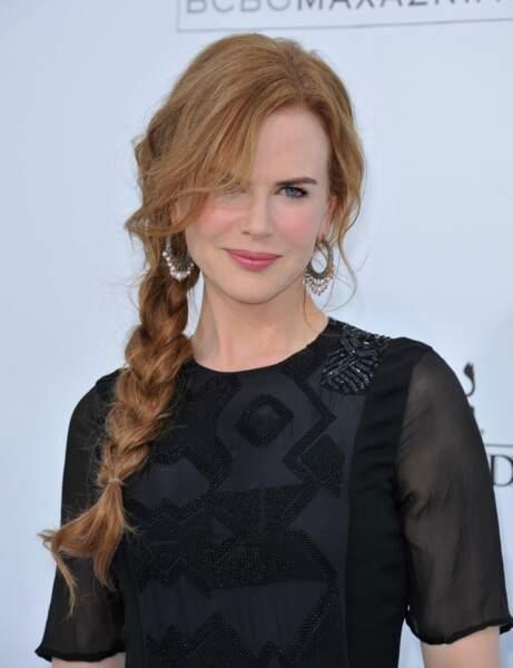 La tresse indienne de Nicole Kidman