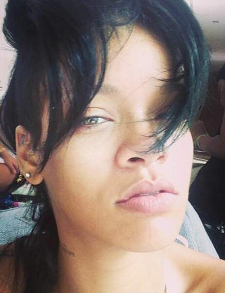 Rihanna, qui n'a pas assez dormi