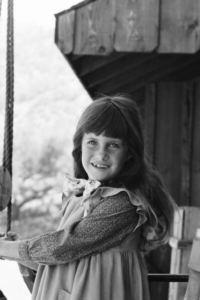 Carrie Ingalls jouée par les jumelles Lindsay et Sidney Greenbush
