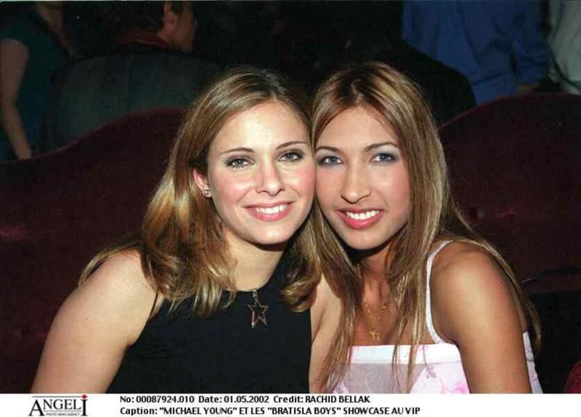 En 2002 Clara Morgane commence à se faire connaître dans son milieu et enchaîne les soirées