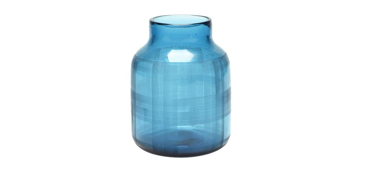 Vase bleu lagon