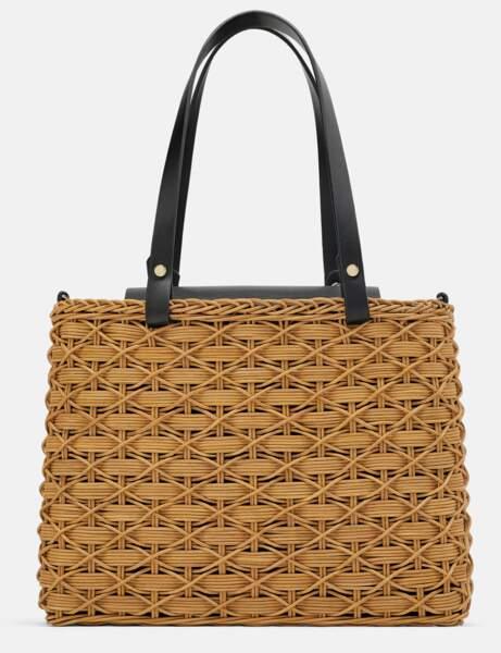 Zara: le sac panier