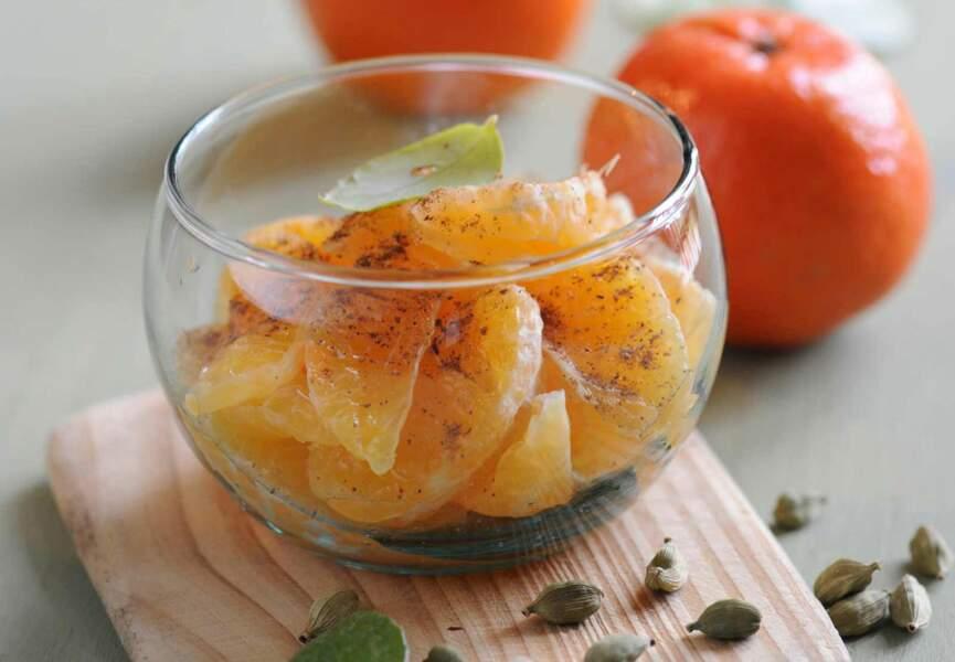 Salade de clémentines aux épices