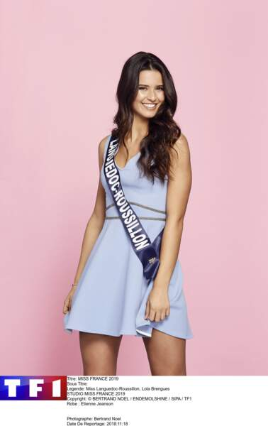 Miss Languedoc-Roussillon, Lola Brengues