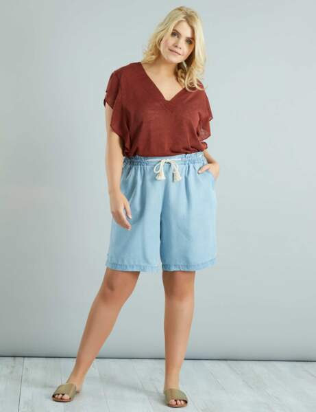 Mode grande taille : le short