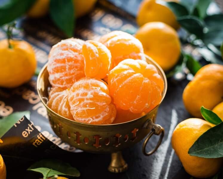 Les clémentines/mandarines