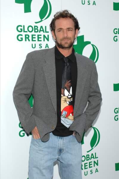 Luke Perry aux Global Green Awards à Santa Monica en 2009.