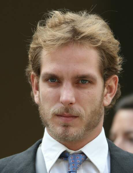 La barbe d'Andrea Casiraghi
