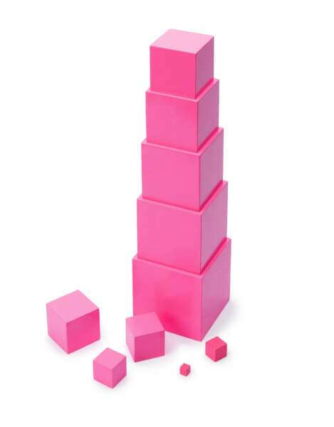 Montessori : la tour rose - Oxybul