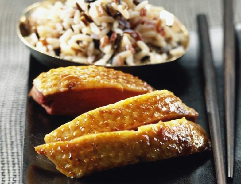 Magrets sauce fruitée