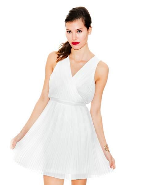 Robe blanche : glamour