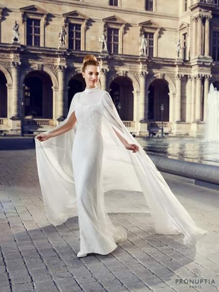 Mariage en hiver : Robe de mariée Dorian par Pronuptia