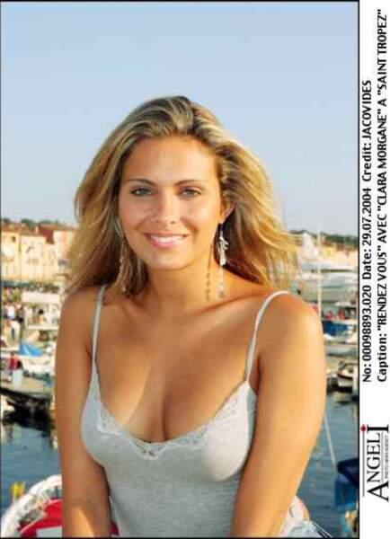 2004, elle change de carrière et devient présentatrice du Journal du hard sur Canal +