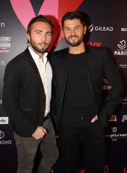 Christophe Beaugrand et Ghislain Gerin à Paris, le 14 février 2019