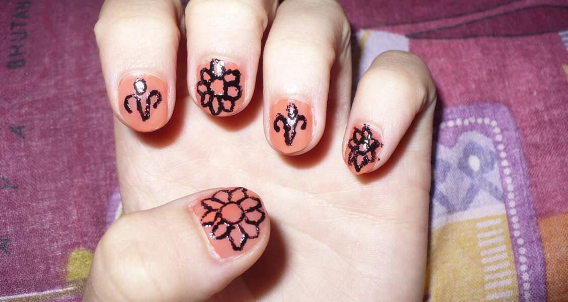 4e place pour le nail art