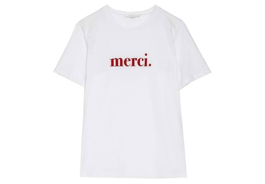 Tee-shirt à message