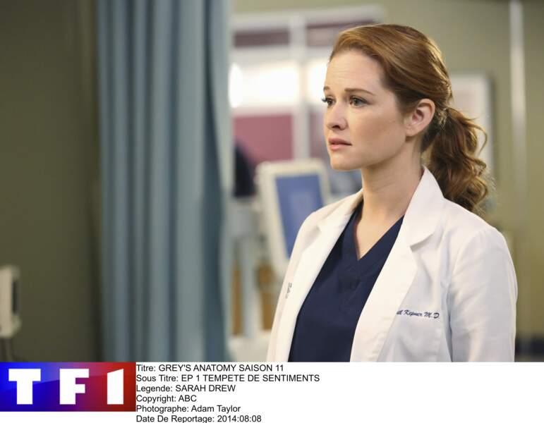 Sarah Drew dans Grey's Anatomy