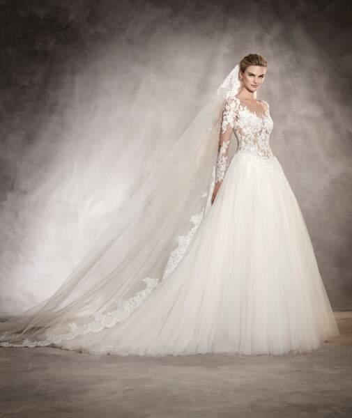 Robe de mariée Pronovias : Arlene